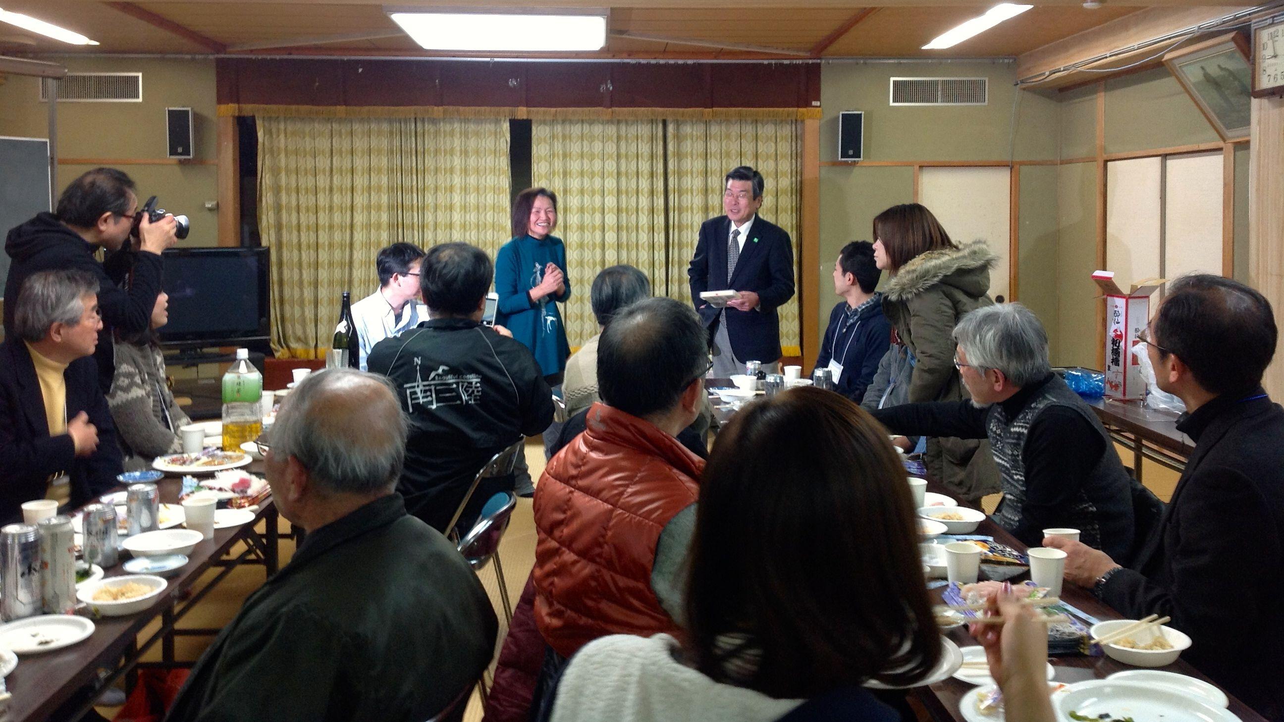 2014年1月 金野靖彦氏 講演